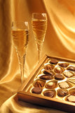 Wedding Chocolates Royalty Free Stock Photos