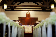Wedding church Royalty Free Stock Photos