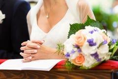 Wedding church Royalty Free Stock Image