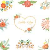 Wedding clipart vector illustration