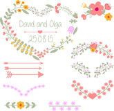Wedding clipart Stock Image