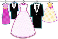 Wedding Clothes Royalty Free Stock Image