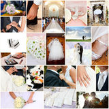 Wedding collage. A collage of wedding images Stock Images