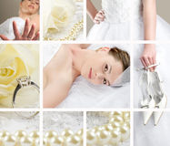 Free Wedding Collage Royalty Free Stock Photography - 7653347