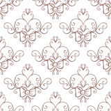 Wedding collection. Seamless background. Vector Royalty Free Stock Photos