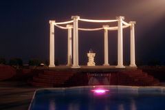 Wedding columns Stock Photos