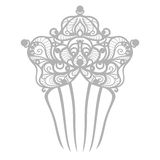 Wedding comb Royalty Free Stock Photography