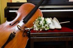 Wedding composition Stock Image