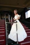 Wedding concept - bride dress Royalty Free Stock Photo
