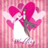 Wedding congratulation Stock Photo