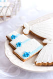 Wedding cookies Royalty Free Stock Photography