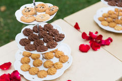 Wedding cookies Royalty Free Stock Photo
