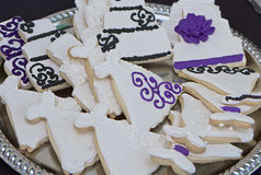 Wedding Cookies Stock Photos