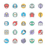 Wedding Cool Vector Icons 4 Royalty Free Stock Photos