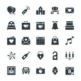Wedding Cool Vector Icons 1 royalty free illustration