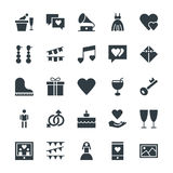 Wedding Cool Vector Icons 2 Royalty Free Stock Images
