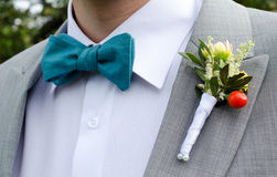Wedding corsage Stock Image