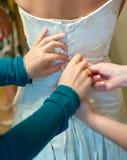 Wedding corset Royalty Free Stock Photography