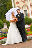 Wedding couple Stock Image