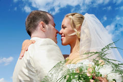 Wedding couple Royalty Free Stock Image