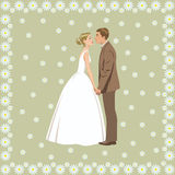 Wedding couple Royalty Free Stock Photo
