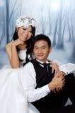 Wedding Couple, Asian Couple Royalty Free Stock Photos