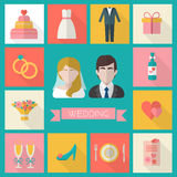 Wedding couple. Royalty Free Stock Photography