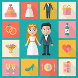 Wedding couple. Royalty Free Stock Images