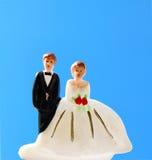 Wedding couple doll Stock Image