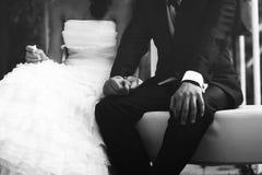 Wedding couple Stock Image
