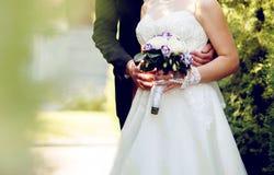 wedding couple is enjoying wedding Stock Photo