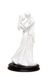 A wedding couple figurines Stock Image