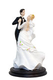 A wedding couple figurines Stock Photos
