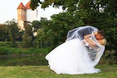 Wedding couple Stock Photo