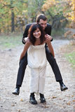 Wedding couple. Stock Image