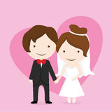 Wedding couple Royalty Free Stock Images