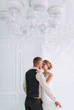 Wedding couple in love. Stock Photo