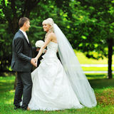 Wedding couple in love Royalty Free Stock Photography
