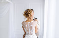 Wedding couple in love. Stock Photography