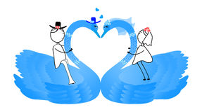 Wedding Couple 3 Stock Images