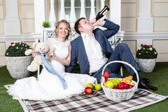 Wedding couple Royalty Free Stock Image