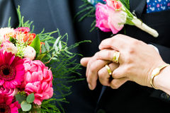 Wedding couples Stock Photo