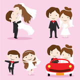 Wedding couples Royalty Free Stock Photos