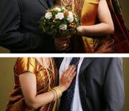 Wedding couples Stock Photos