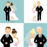 Wedding couples 3 Stock Photography
