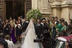 Wedding cristel carrisi Royalty Free Stock Photos