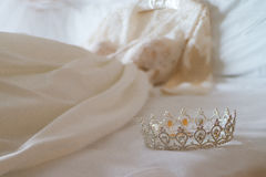 Wedding crown  on a white background Stock Photography