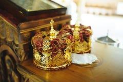 Wedding Crowns Stock Photos