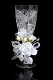 Wedding crystal glass Stock Photo