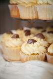 Wedding Cup Cakes Detail Stock Photo